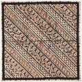 Collectie NMvWereldculturen, RV-847-2, Batikpatroon, 'Udan iris', voor 1891.jpg