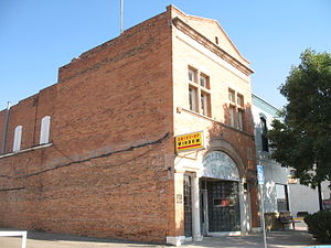 National Register of Historic Places listings in Converse County, Wyoming - Image: College Inn Bar in Douglas, WY