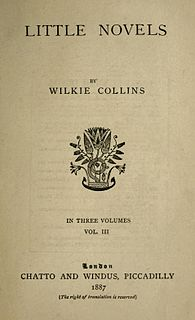 <i>Who Killed Zebedee?</i> book by Wilkie Collins