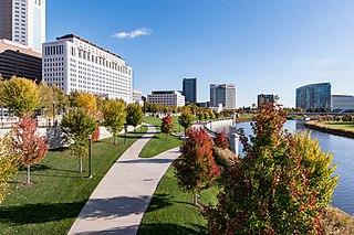 Scioto Mile Park in Columbus, Ohio