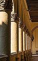 Columns cloister Monastery San Hieronimo, Granada, Andalusia, Spain.jpg