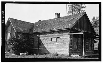 Pinkney City, Washington - The John Holst homestead near Colville