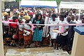 Commissioning of Nko health center by the Cross River State commissioner for health Dr Edu.jpg
