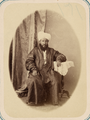 Communal Prayer at the Annual Festival and the Officials of the Mosques. Imam Abdul Kaium Kari WDL10799.png