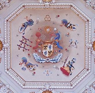 Villa Olmo - Image: Como Villa Olmo Ceiling