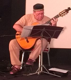 """Luis Manuel Molina - Concert in the """"International School of Cinema and Television"""" in Cuba"""
