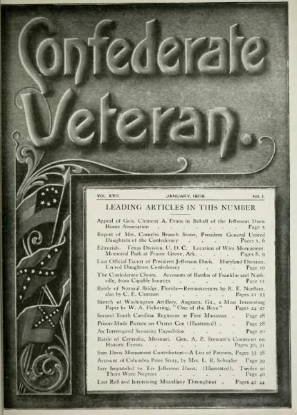File:Confederate Veteran volume 17.djvu