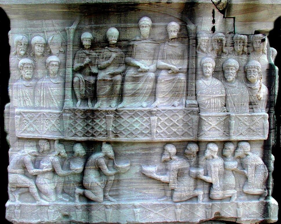 Constantinople Theodosius base NW