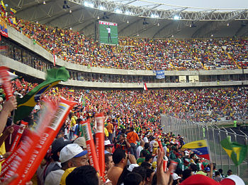 Copa america cte cachamay