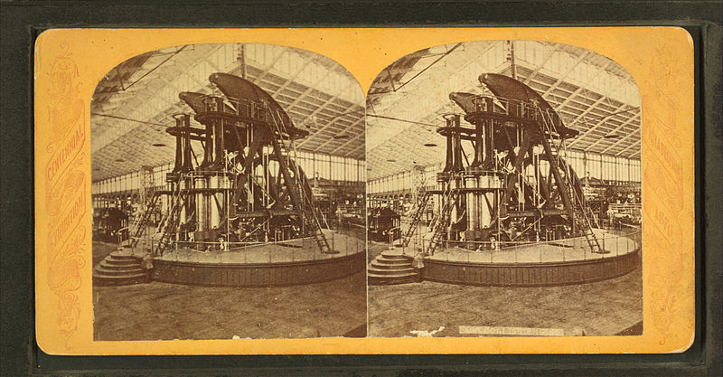 File:Corliss engine, Machinery Hall, from Robert N. Dennis collection of stereoscopic views.jpg