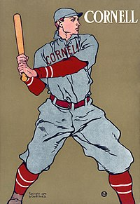 Cornell baseball player, 1908 Cornell Baseball2.jpg