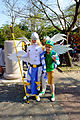 Cosplayers of Angemon and Takeru Takaishi, Digimon at CWT42 20160213a.jpg
