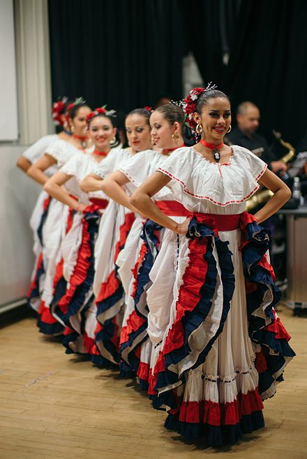 Costa Rican Women in Traditional Dress Costa Rican Women in Traditional Dress.jpg