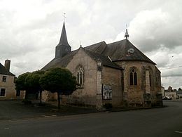 Courcelles-de-Touraine – Veduta