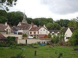 A general view of Courcelles-sur-Viosne