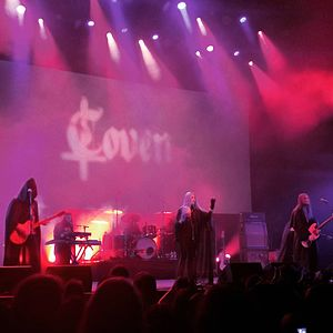 Coven (band) - Coven performing live at Roadburn Festival (2017).