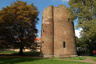 Cow Tower, Norwich Medieval artillery tower in Norwich, England