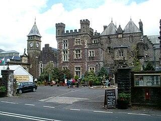 Craig-y-Nos Castle castle in Powys, Wales