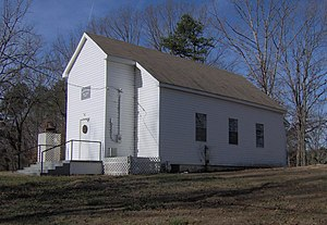 National Register of Historic Places listings in Loudon County, Tennessee - Image: Craigs chapel ame zion tn 1