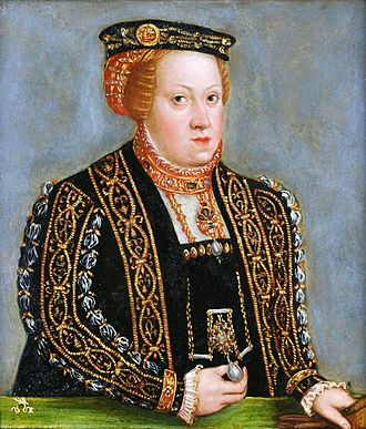 Catherine of Austria, Queen of Poland - Image: Cranach the Younger Catherine of Austria