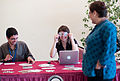 Creative Commons booth at Al Jazeera forum.jpg