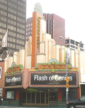 Majestic Crest Theatre - Image: Crest Theater (Westwood)