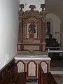 Creyssensac-et-Pissot église Creyssensac autel nord (1).JPG