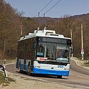 Crimea South Coast 04-14 img01 Simferopol-Yalta trolley
