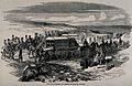 Crimean War, Russia; the siege of Sebastopol, collecting the Wellcome V0015374.jpg