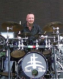 Il batterista Cristiano Mozzati
