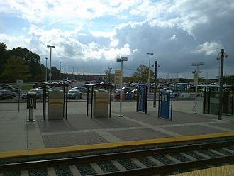 Cromwell / Glen Burnie station - Cromwell / Glen Burnie station in 2011