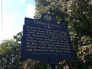 Crooked Billet historical marker