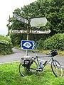Crossroads roadsign - geograph.org.uk - 1156339.jpg