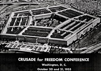 Crusade for Freedom - Conference at the Pentagon