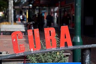 Cuba Street, Wellington street in Wellington, New Zealand