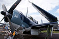 Curtiss SB2C-5 Helldiver BuNo 83589 NX92879 LNose SNF 16April2010 (14628314234).jpg