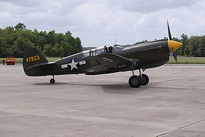 325th Operations Group - Restored Curtiss P-40