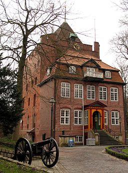 Ritzebuettel slotte i Cuxhaven
