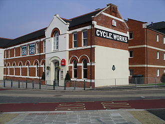 Cheylesmore - Ibis hotel and former Quinton Works