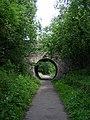 Cycleway in Milton of Campsie - geograph.org.uk - 195692.jpg