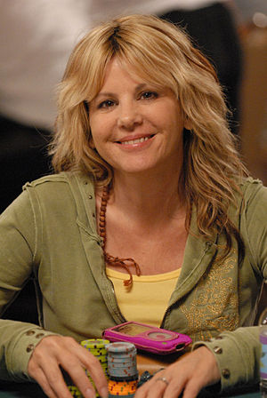 Cyndy Violette - Cyndy Violette at the 2007 World Series of Poker