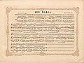 """Düsseldorfer Lieder-Album, Arnz & Co. 1851, S. 23 – """"Ave Maria"""" Gedicht von Emanuel Geibel, Komponist Robert Franz.jpg"""