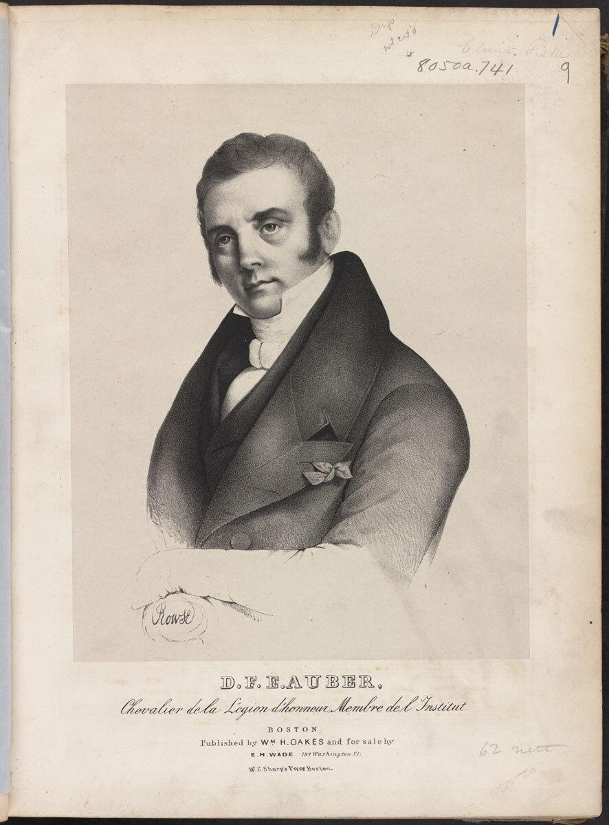 D.F.E. Auber (Boston Public Library)