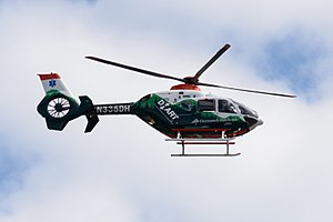 Dartmouth–Hitchcock Medical Center - Dartmouth-Hitchcock Advanced Response Team Eurocopter EC135 in 2013.