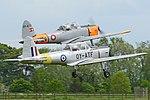 DHC-1 Chipmunks 'OY-ATF' & 'OY-ATO' (32224088303).jpg