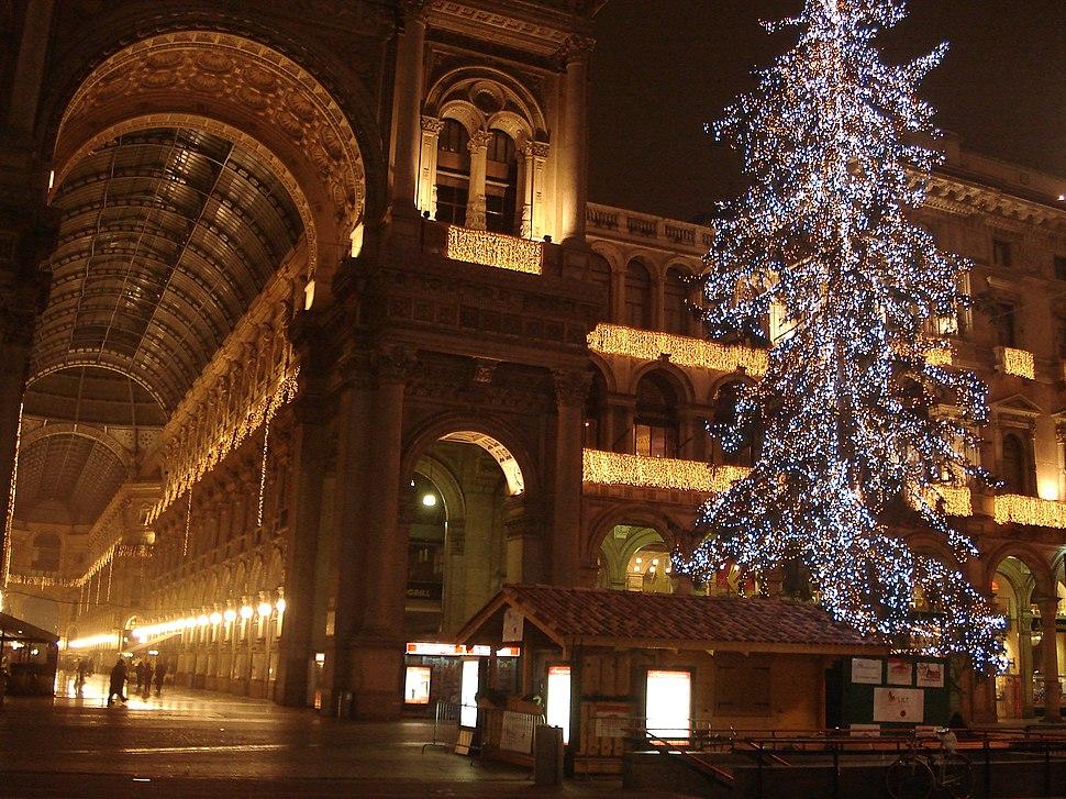 DSC01925 Luci natalizie a piazza Duomo - Milano - Foto di G. Dall'Orto - 28-12-2006