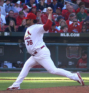 Dennys Reyes - Reyes with the St. Louis Cardinals