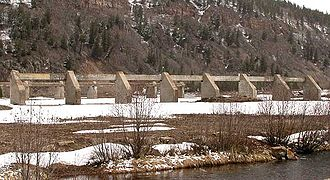 National Register of Historic Places listings in Eagle County, Colorado - Image: DSCN3059 camphaleruins e 600