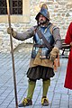 DSC 0408 An German Pikeman of the Polish Commonwealth, with kettle hat, corselet, and sword.jpg