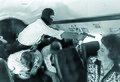 DSS trainers simulate a terrorist incident aboard an airplane in 1988 (43334043522).jpg